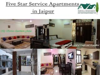 Five Star Service Apartments In Jaipur - Myserviceapartmentjaipur.com