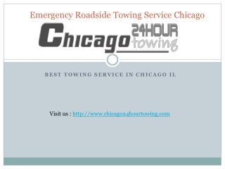 emergency roadside towing service Chicago