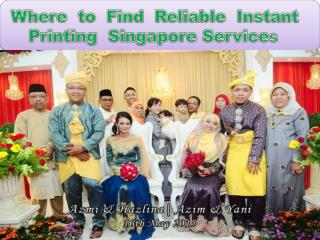 Where  to  Find  Reliable  Instant  Printing  Singapore Services