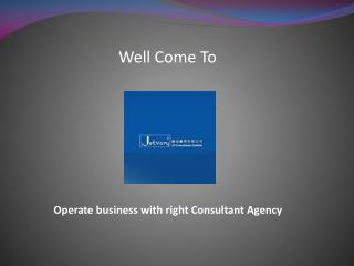 Operate business with right Consultant Agency