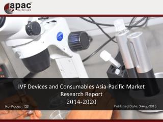 IVF Devices and Consumables Asia-Pacific Market Research Report, 2014 � 2020