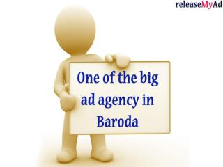 Baroda Advertising Agency for Newspaper, Radio, Cinema. Magazines and Online