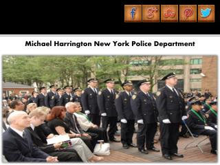 Michael Harrington New York Police Department