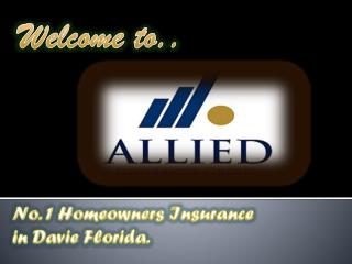 homeowners insurance in Broward county Florida
