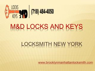 Emergency Locksmith New York City