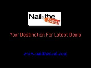Nail The Deal - Spa Full Body Massage Deals & Offers in Dubai, UAE