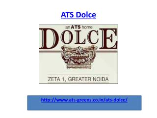 ATS Dolce Residential Luxury Apartment