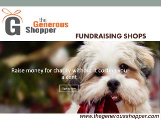 Fundraising Shops Sites