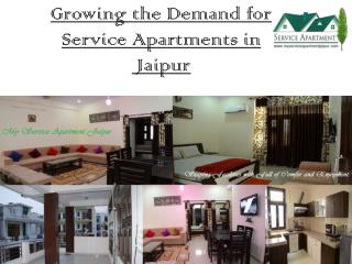 Growing the Demand for Service Apartments in Jaipur - Myserviceapartmentjaipur