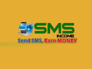 SMS Income - INCOME BY SENDING SMS