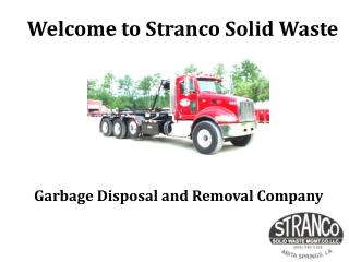 Garbage Disposal and Removal Service Company