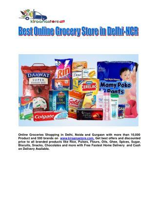 Buy Grocery Online Noida - Kiraanastore.com