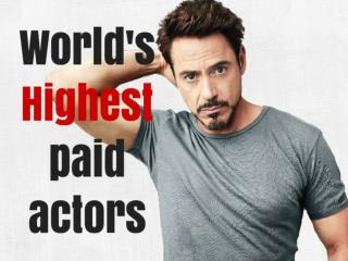 World's highest-paid actors