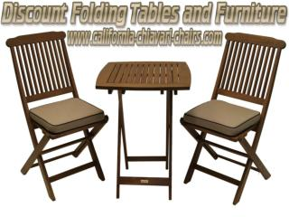 Discount Folding Tables and Furniture