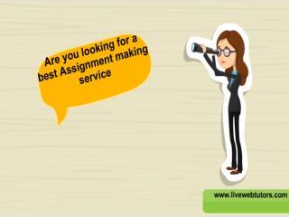 Online Assignment Help - Assignment Tutor Help