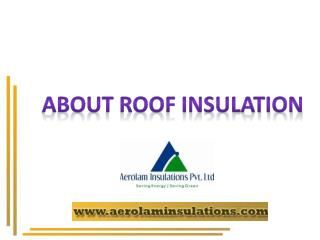 Roof Heat Insulation Exporters India