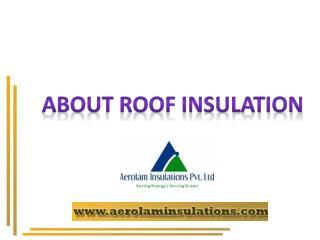 Roof Heat Insulation Exporters India