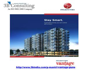 Mantri Vantage – New Residential Project At Kharadi Pune