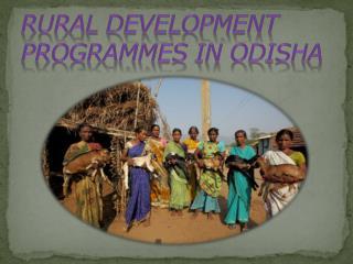 Rural Development Programmes in Odisha