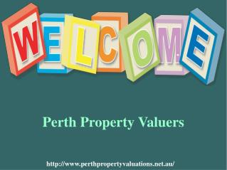 Hire Expert Valuers for Property Valuation in Perth
