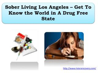 Sober Living Los Angeles – Get To Know the World in A Drug Free State