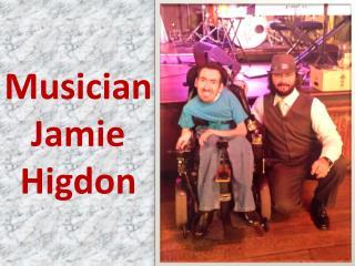 Musician Jamie Higdon