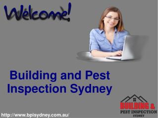 Building and Pest Inspection Service in Sydney