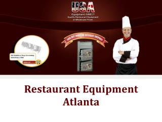 Restaurant Equipment Atlanta