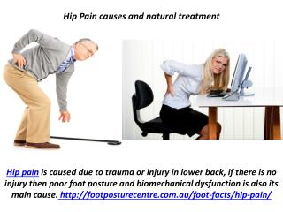 Hip Pain causes and natural treatment