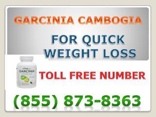 (855) 873-8363 Garcinia Cambogia Side Effects
