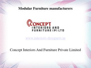Modular Furniture manufacturers