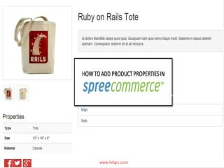 How to add Product Properties in Spree Commerce