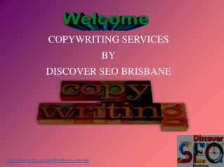 Copywriting Services in Brisbane
