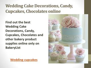 Wedding Cakes | Wedding Cupcakes