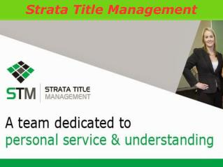 STM – A Team of Dedicated Professional