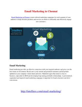 Email Marketing in Chennai