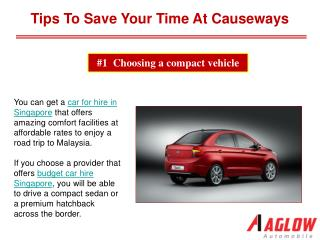 Tips to save your time at causeways