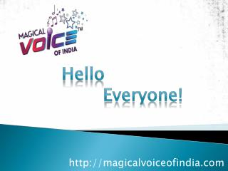 Singing Audition in India