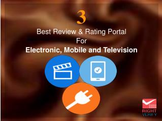 3 Best Reviews & Rating Portal For Electronic, Mobile & Television