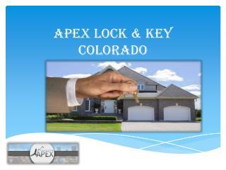 Apex Lock & Key Colorado