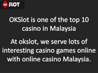 Top 10 Online Betting, Gambling, Gaming Casino Malaysia