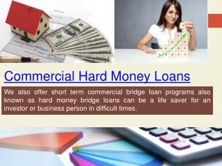 Commercial Bridge Loan