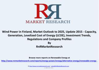 Wind Power in Finland, Market Outlook in Major Countries to 2025
