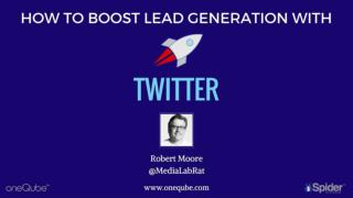 How To Boost Lead Generation With Twitter