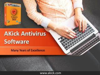 Best Free Antivirus Software Download - AKick Antivirus