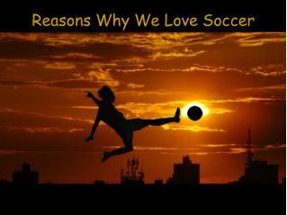 Reasons Why We Love Soccer