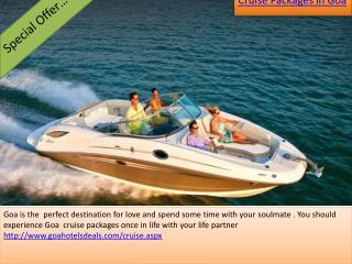 Goa Cruise Packages