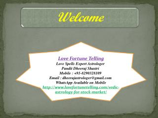 Check It Out Vedic Astrology For Your Personal Purpose: Mobile :  91-8290328109