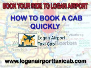 Logan Airport Taxi Service