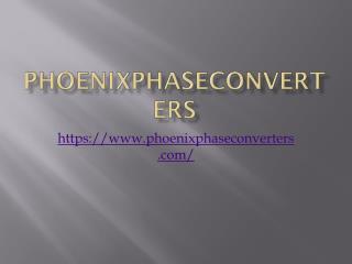 3 Phase To Single Phase Converter